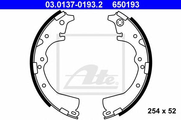 ATE 03.0137-0193.2, Maxilas Classic Pkw Toyota Hiace (87-89) Tr
