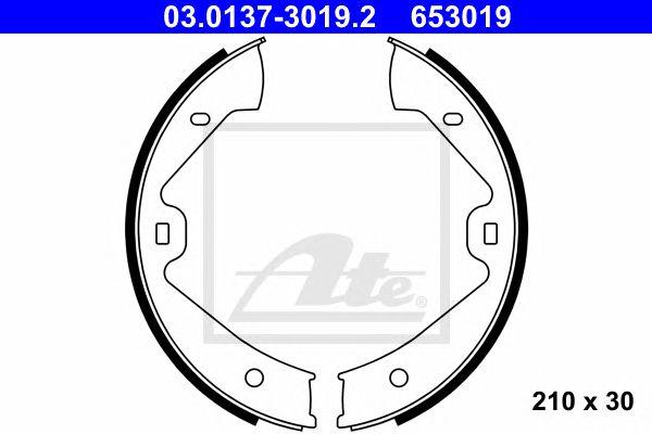 ATE 03.0137-3019.2, Maxilas Porsche Cayenne II (10-) 4.8 Turbo