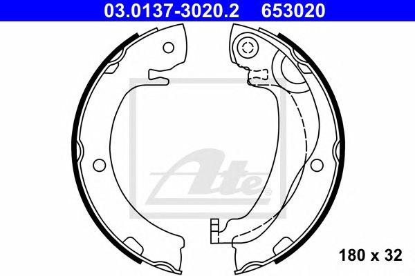 ATE 03.0137-3020.2, Maxilas Toyota Corolla Verso (04-09)