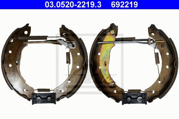 ATE 03.0520-2219.3, Ate Topkit Renault Laguna I  (b56/556_) (93-00)
