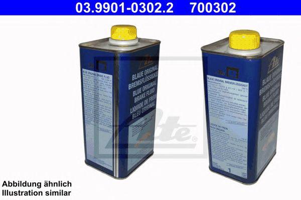 ATE 03.9901-0302.2, (desc) Líquido travões Dot3 Azul B
