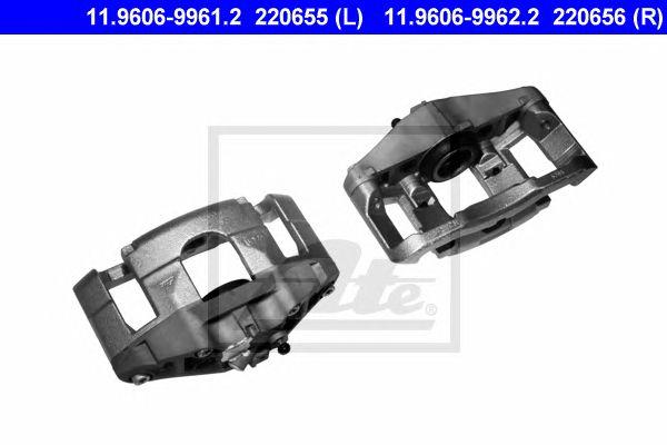 ATE 11.9606-9961.2, Pinça de Travão Audi A4 (b6/b7) (01-08)ft