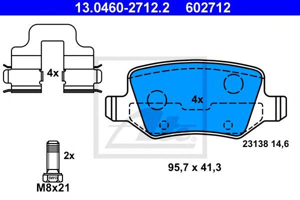 Pastilha de Travão MB A-Classe W169 04- Tr