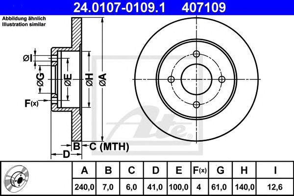 DISC TRAV NISSAN MICRA (K11E) (92-02) TR