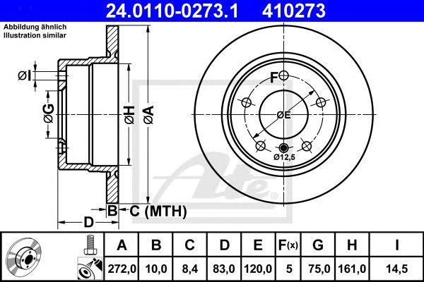Disco de Travão BMW Z3 (95-02) Tr