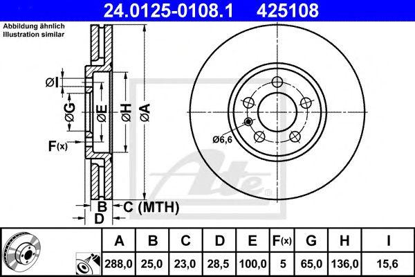 Disco de Travão Vag Passat 2.0 . 2.8 Ft