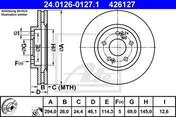 Disco de Travão Hyundai Santa FE I (sm) (01-06) Ft