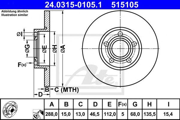 Power Disc Vag 100/a4/a6