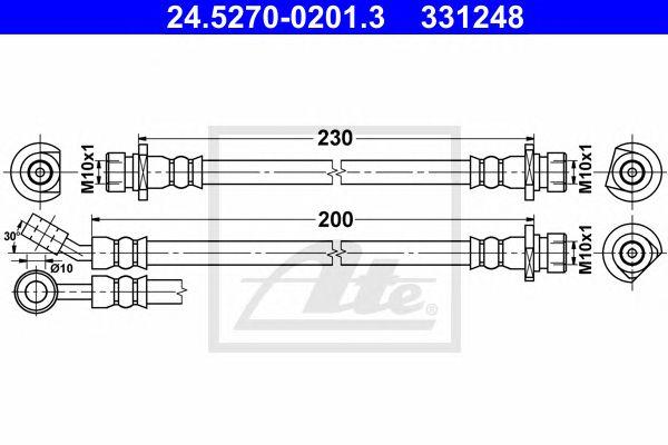 Tubos Travão Honda Civic Hatchback (fk/fn) (05-) Tr