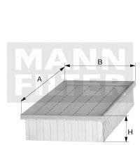 MANN-FILTER C4371-2, Elemento de Filtro de Ar