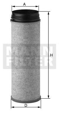 MANN-FILTER CF2000-1, Elemento de Filtro Sec.. de Ar