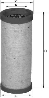 MANN-FILTER CF7001, Elemento de Filtro Sec.. de Ar